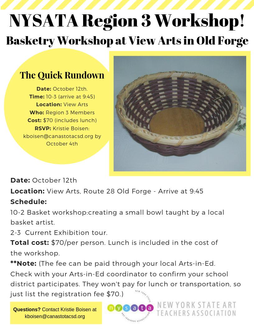 R3 Basket workshop