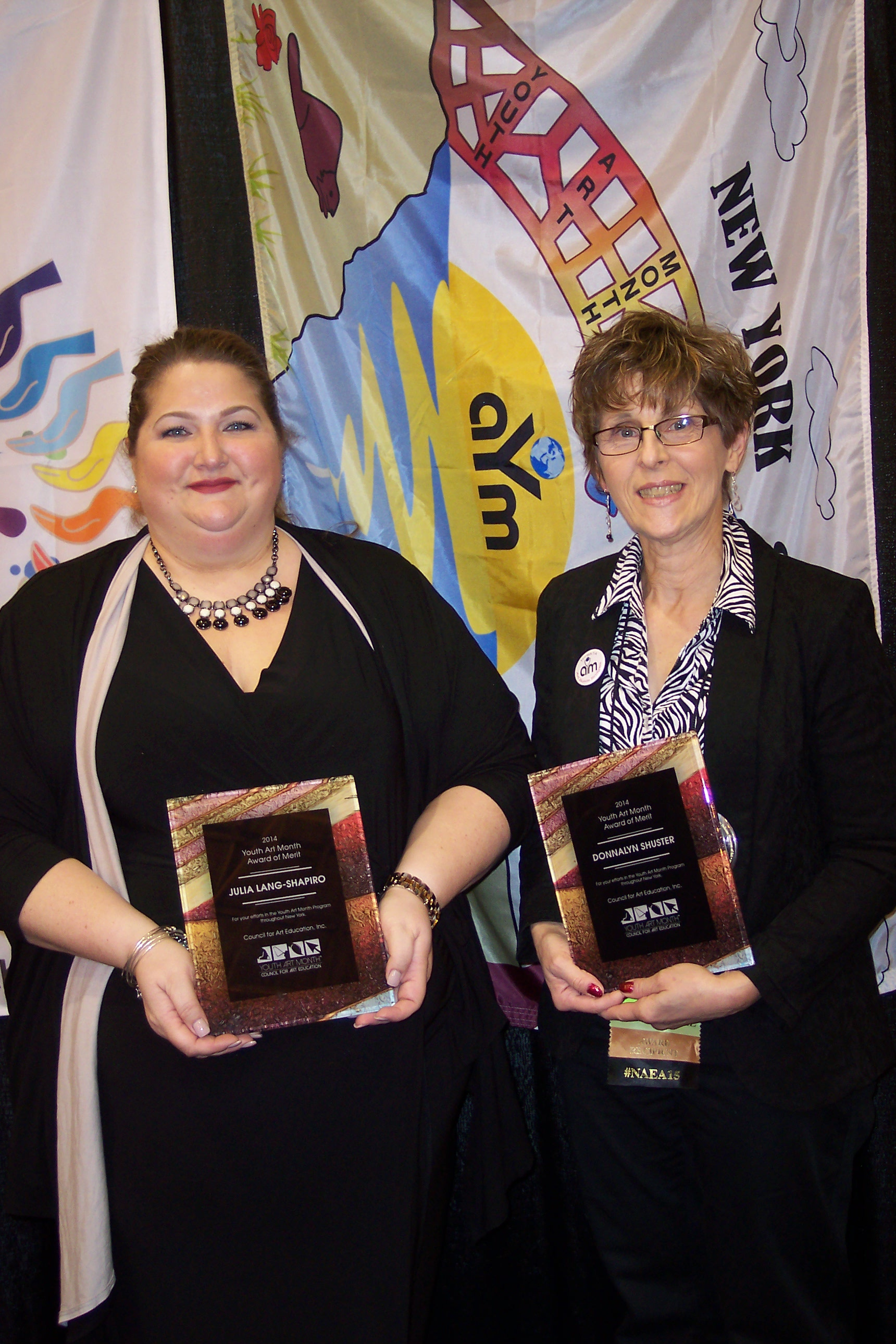 YAM 2015 Awards at the NAEA Conference, New Orleans