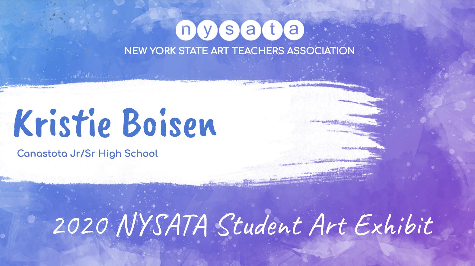 Kristie Boisen Student Exhibit