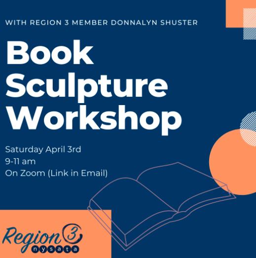 R3 2021 Book Sculpture workshop