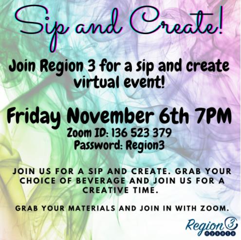 R3 Sip & create