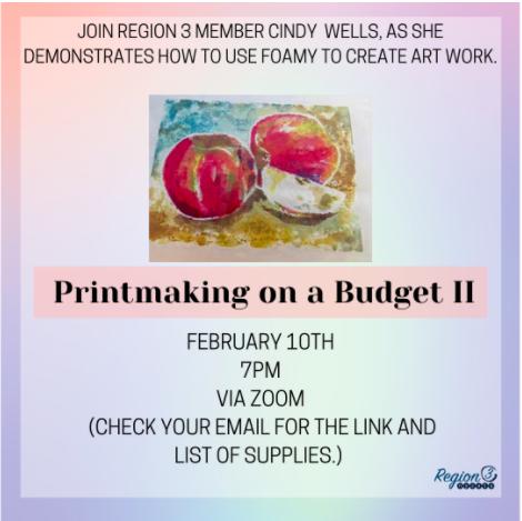 R3 2021 Printmaking on a Budget II