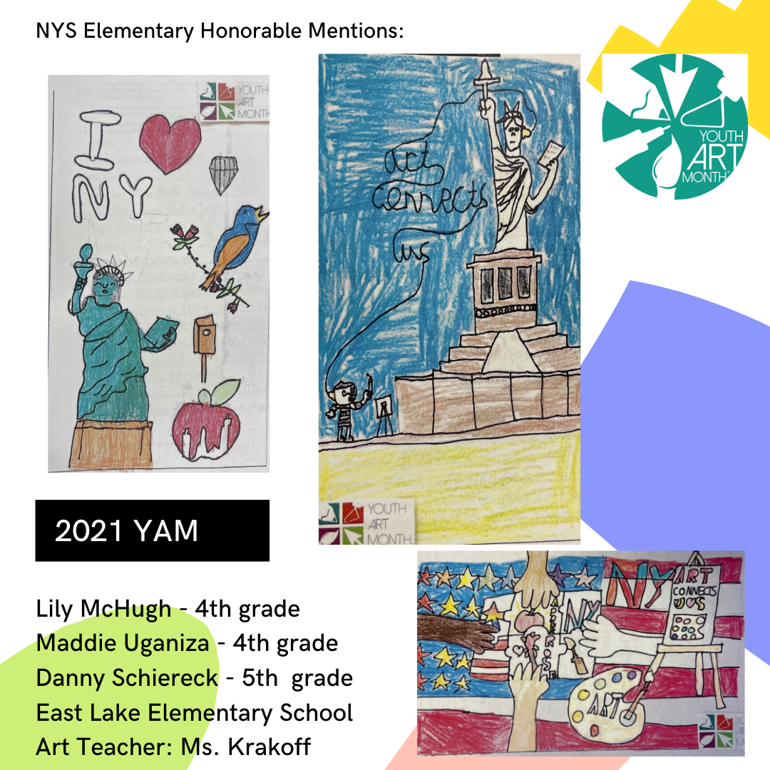 2021 YAM Elementary honorable mentions